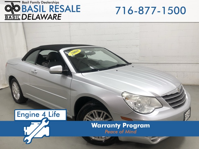 Pre Owned 2008 Chrysler Sebring Touring Fwd 2d Convertible