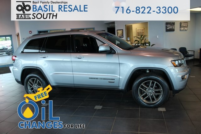 Jeep Grand Cherokee 75Th Anniversary >> Pre Owned 2016 Jeep Grand Cherokee 75th Anniversary Edition 4wd