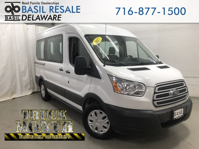 Ford Transit 150 >> Pre Owned 2017 Ford Transit 150 Xlt Rwd Passenger Van