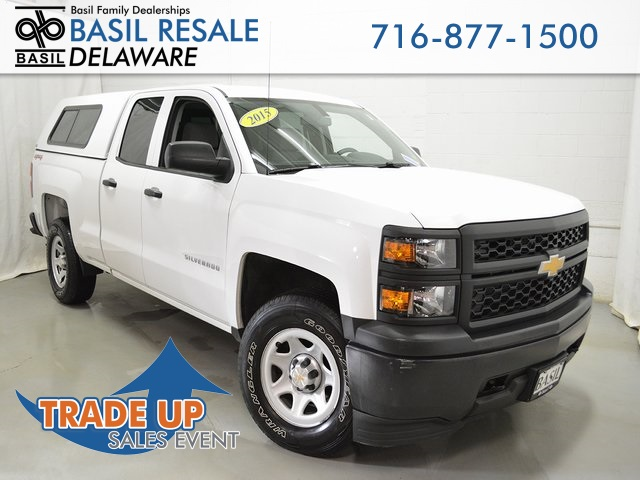 Pre Owned 2015 Chevrolet Silverado 1500 Wt 4d Double Cab In Buffalo