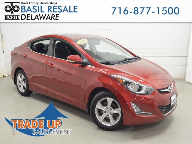 2016 Hyundai Elantra Value Edition >> Pre Owned 2016 Hyundai Elantra Value Edition 4d Sedan In Buffalo
