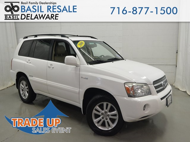 Pre Owned 2006 Toyota Highlander Hybrid Limited 4d Sport Utility In