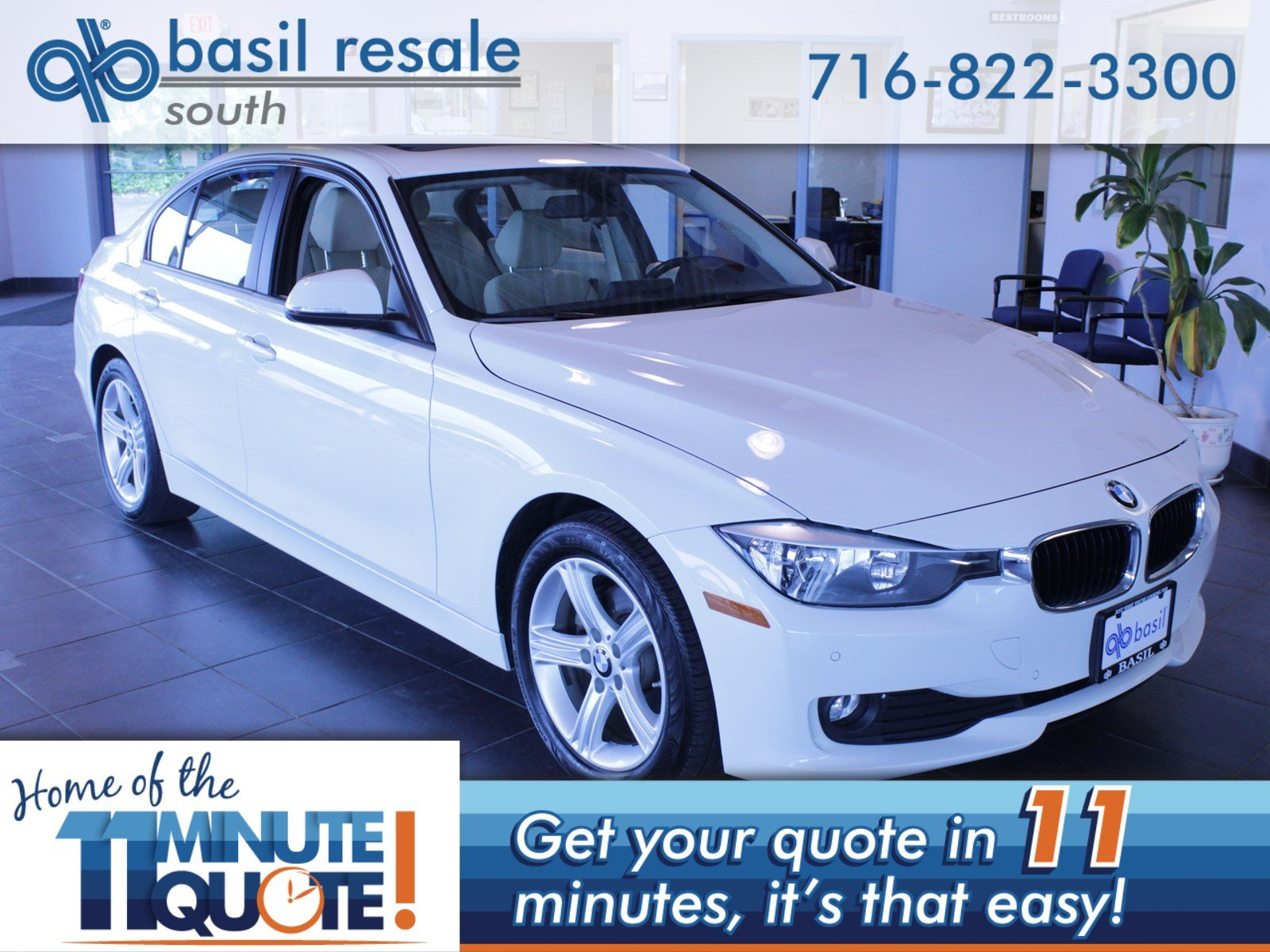 Pre Owned 2015 BMW 3 Series 320i xDrive 4dr Car in Buffalo AB3963