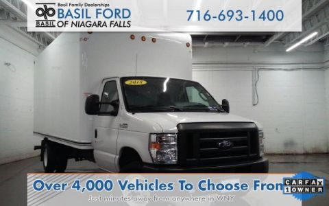 Pre-Owned 2018 Ford E-450SD Base RWD Specialty Vehicle