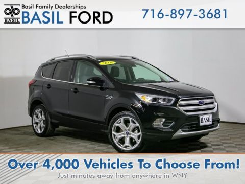 Pre-Owned 2019 Ford Escape Titanium With Navigation & 4WD