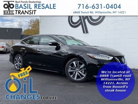 Pre-Owned 2019 Nissan Maxima SL With Navigation