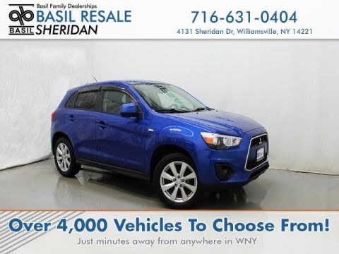 Pre-Owned 2015 Mitsubishi Outlander Sport ES FWD Sport Utility