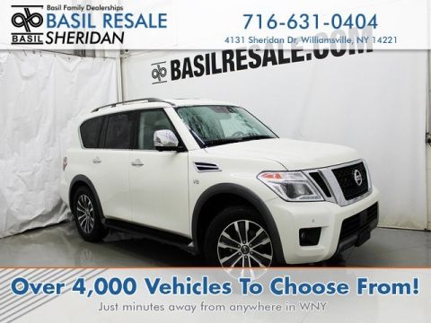 Pre-Owned 2019 Nissan Armada SL With Navigation & AWD