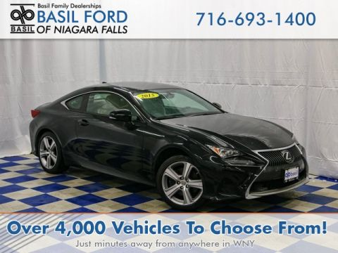 Pre-Owned 2015 Lexus RC 350 With Navigation & AWD