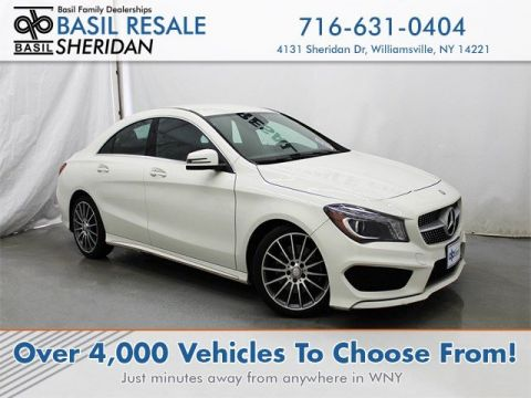 Pre-Owned 2016 Mercedes-Benz CLA CLA 250 AWD 4MATIC®